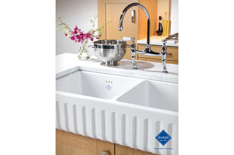 Fire Clay Sinks : Shaws fire clay sink
